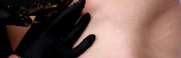 Brazilian Sugaring by Left-Handed Esthetician for an Esthetician