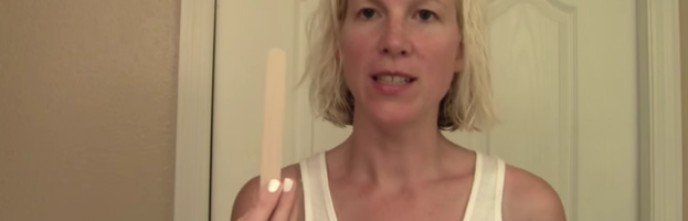 Underarm Sugaring using the Strip Method by Grace Power